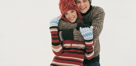 Couple-ski