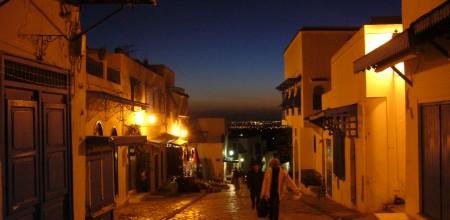 Sidi_Bou_Saïd_de_noche